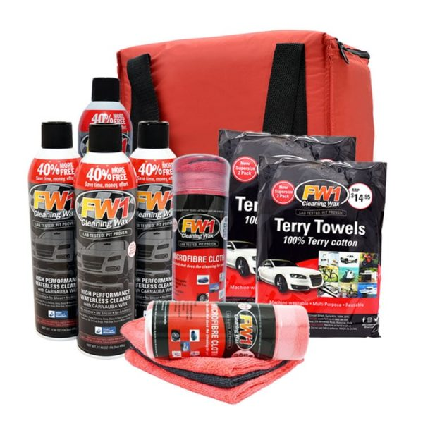 FW1 Mega Pack - Complete Car Cleaning Kit