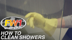 How to clean showers
