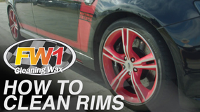 How to clean your rims