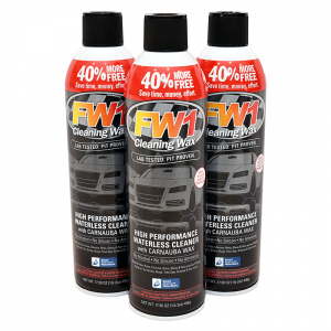 FW1 cleaning wax 3-pack